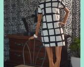 Windsor Shift Dress for 1:6 Fashion Dolls