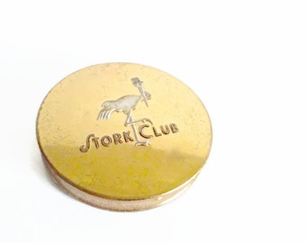 Stork Club Compact 1940s New York Memorabilia