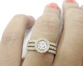 Unique Diamonds Engagement Ring - Sunset