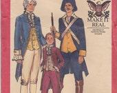 Men's Bicentennial Costume Pattern Butterick 4207 Size 42