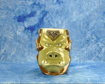 Vintage Applause 1990s Star Wars Shadow Of The Empire The Star Wars Collector's Series Hand Painted Ceramic Figural Mug Gamorrean Guard