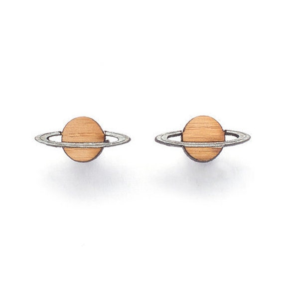 planet saturn earring - photo #21