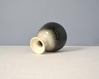 Vintage Jaru Art Products Black and White Bottle Vase