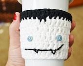 Toothy Vampire Coffee Cozy