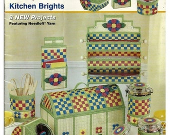 Kitchen Brights / Quick Count Plastic Canvas Pattern The Needlecraft Shop 53014