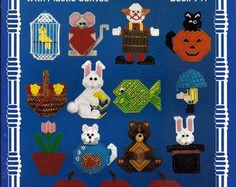 Makin Magets with Plastic Canvas Pattern Book Kappie Originals Ltd Book 141