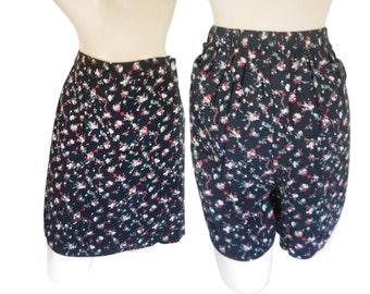 90s Grunge Clothing Grunge Clothes Vintage Skort High Grunge Floral Skirt High Waist Shorts High Waist Skirt Skant Scooter High Waste Skirt