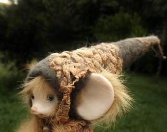 sweet  ooak posable  tiny fairy fairie mouse