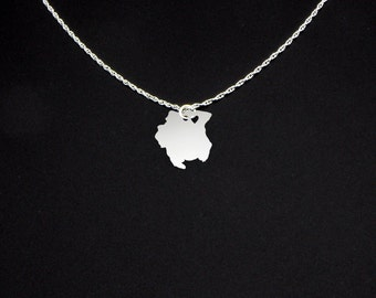 Suriname Necklace - Suriname Jewelry - Suriname Gift