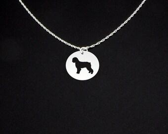 Spanish Water Dog Necklace - Spanish Water Dog Jewelry - Spanish Water Dog Gift
