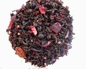Organic Berry Tea, BERRY BLAST, Loose Black Tea, Iced Tea, Sweet Tea, Fruity Tea, 1oz Earth Friendly Packaging