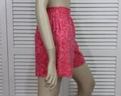 Vintage Shorts Ocean Pacific Size Medium Orange/Pink