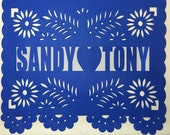 Fiesta Papel Picado Banner - Any Occasion - Personalized