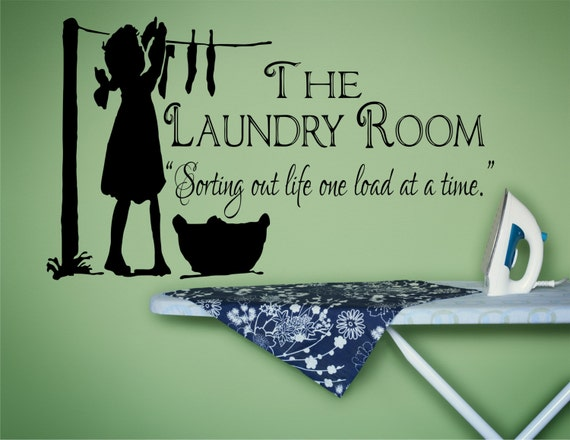 Laundry room decor laundry sign laundry room decal laundry for Room decor signs
