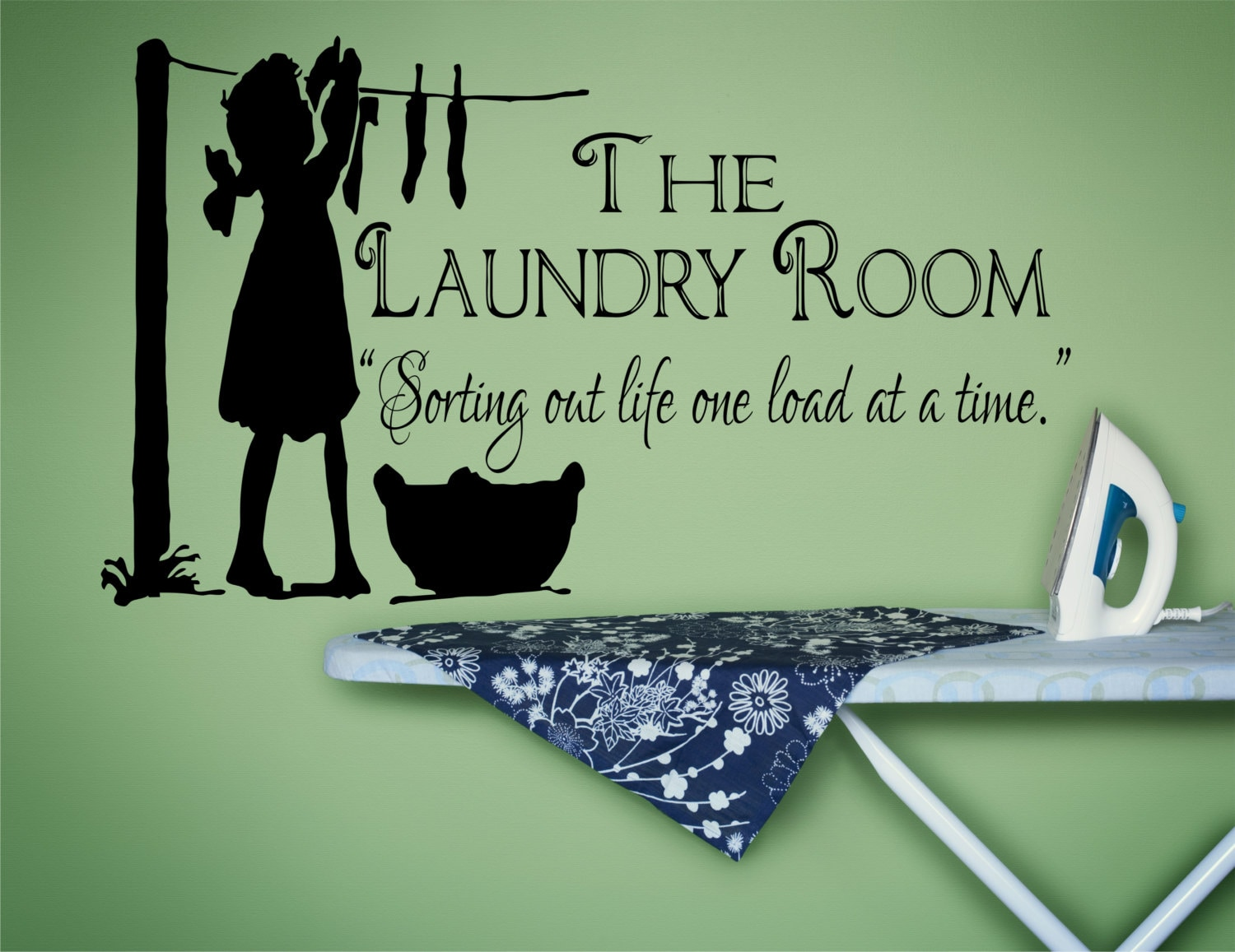Laundry room decor laundry sign laundry room decal laundry for Laundry room accessories uk