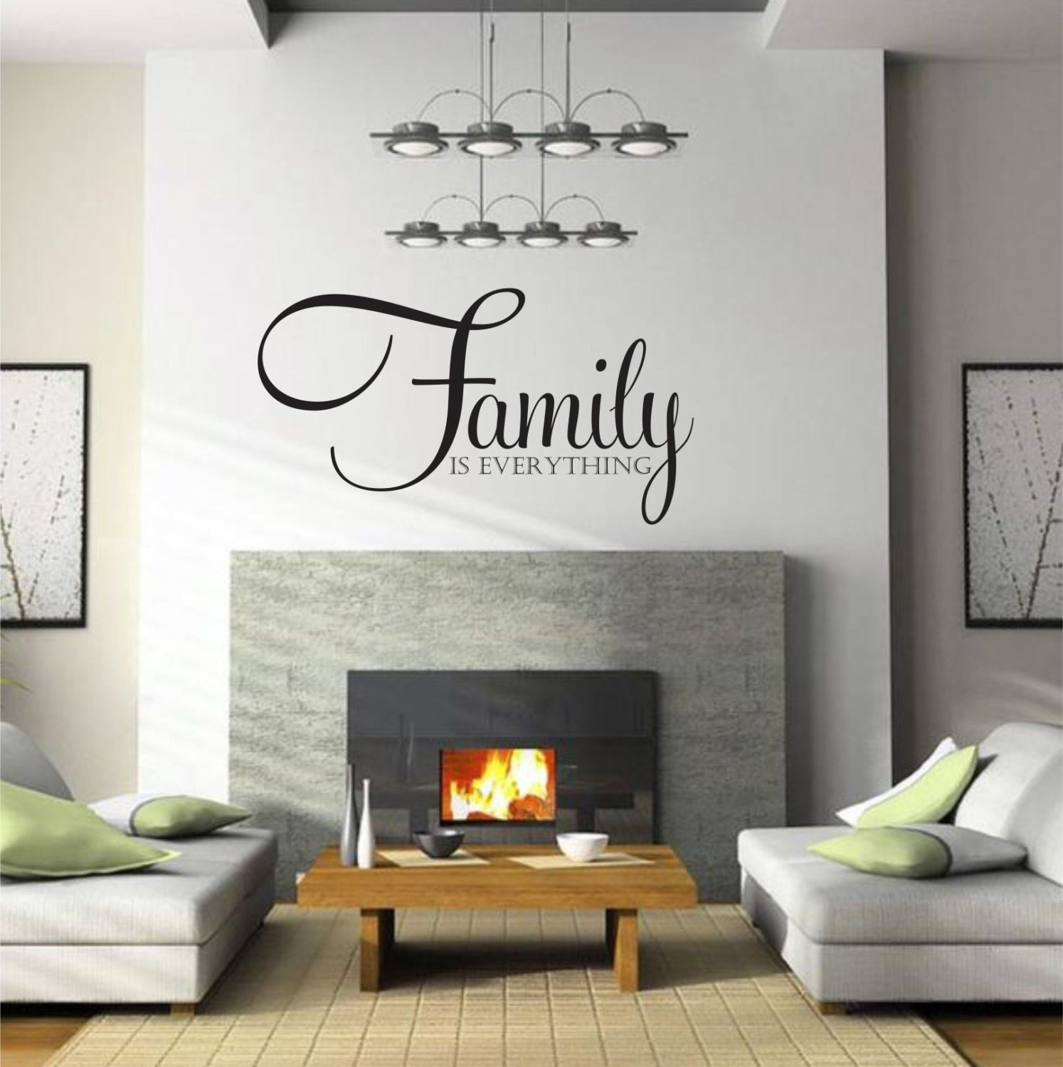 family is everything family wall decal family decor family zoom