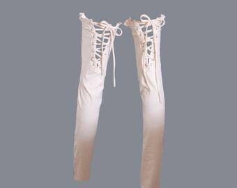 LILY LEGWARMER [ festival clothing . festival accessories . leg warmers . thigh high leg warmers . leg warmer . burning man clothing ]