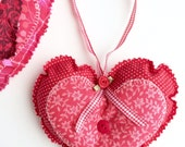 Valentine Heart for Her - Gift for Her - Decorative Heart - Valentine Home Decor - Hanging Door Heart - Valentine  For Her - Valentine's Day
