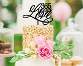 Original 365 Days of Love First Anniversary Cake Topper