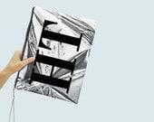 Monogram foil print XL Portfolio
