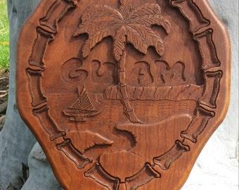 Guam Seal Plaque