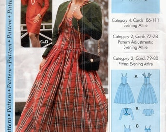Step-By-Step Pattern--Uncut--Evening Attire--Size 4-24