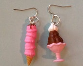 Ice Cream Charm Earrings