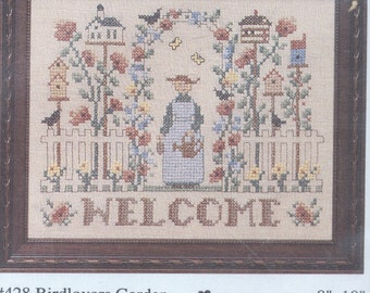 Cross Stitch Kit Birdlovers Garden - Unopened and Complete