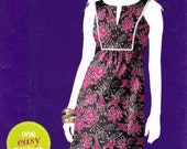 Simplicity 2017 Sew Simple pattern, uncut, misses' pullover dress in sizes 8-18