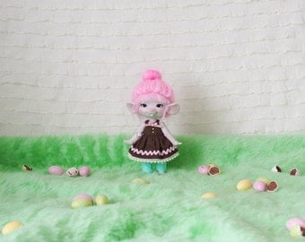 Easter chocolate dress for Raclette/Pukifee/Jr. Pi. Only one available!