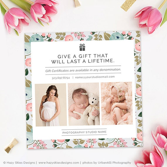 Mother's Day Photography Marketing Template Mommy And Me
