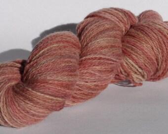 SALE Soft Chestnut 4 Ply Wool Yarn 50g