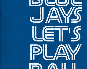 Toronto Blue Jays art print for Toronto fans