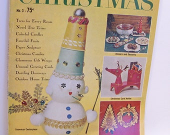 Woman's Day Best Ideas for Christmas Magazine, #3 1961