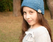 Knitting PATTERN - Jadyn Slouchy Hat - cloche beanie  - Toddler, Child and Teen sizes