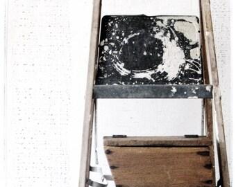 handmade wood box - rustic primitive farmhouse style