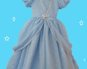 Cinderella blue dress, gi...