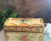 Colorful and Romantic Florentine Box