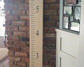 Wooden 6' Growth Ruler