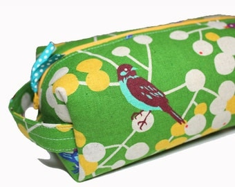 NEW boxy BIRD pencil case