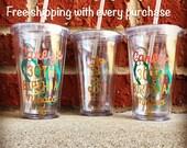 Flip Flop Beach Tumbler, Birthday Tumbler, 30th Birthday Cup, 30th Birthday Tumbler, Personalized Tumbler, Custom Tumbler, Beach Cup
