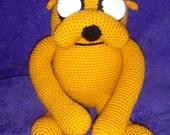 Adventure Time Jake Crochet Stuffed Animal