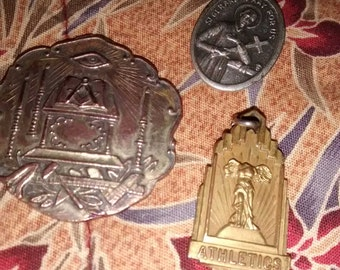 Religious Medals And Masonic Medal