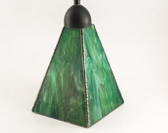 green pendant light kitchen lighting home interior lighting stained glass lamp hanging