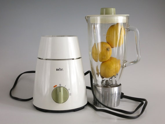 Vintage braun mx 32 multimix blender gerd a m ller robert for Robot cuisine braun