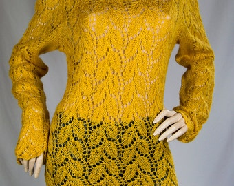 Warm Cozy and Elegant Handknitted Sweater