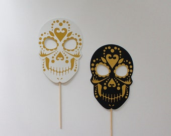 Sugar Skull Halloween Photo Booth Props