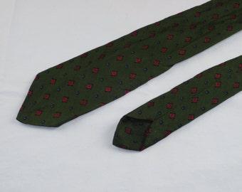 Vintage Men's Tie, Green