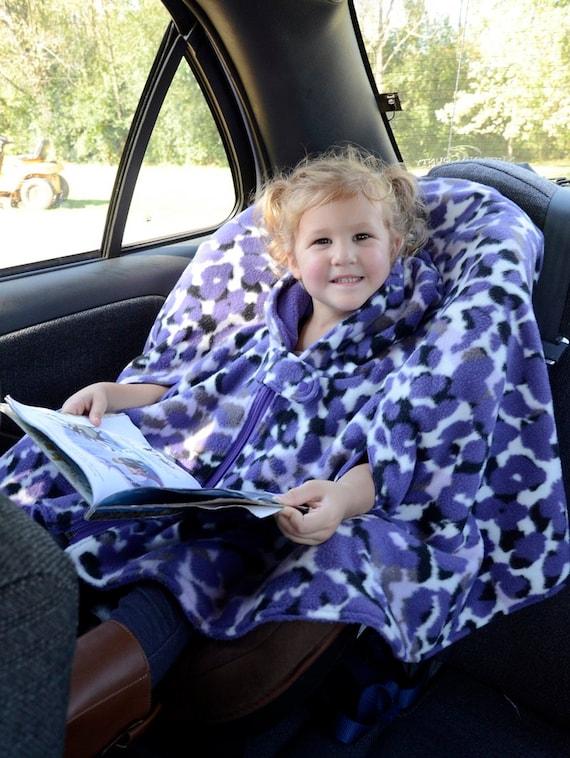 Car Seat Poncho Custom Made Fleece Poncho With By Elainesearer