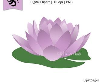 Clip Art Lily Pad Clipart lily pad clip art etsy digital clipart singles water purple flower graphics image scrapbook png instant download art